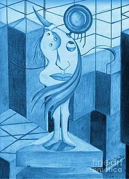Blue Matilda  by David Tidy Jr