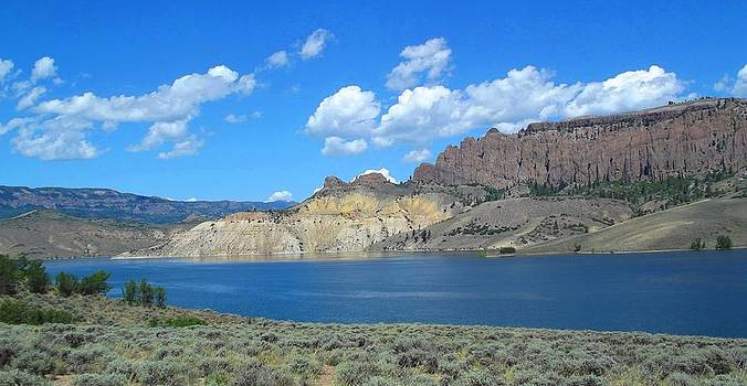 Blue Mesa Colorado by Glen Powell
