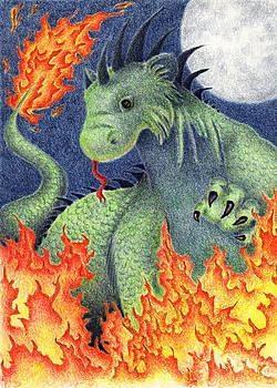 Jeanette K - Blue Moon Fire Dragon