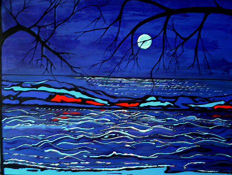 Kathy Peltomaa Lewis - Blue Moon