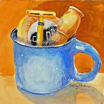 Blue Mug by Suzy Pal Powell
