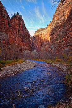 Blue Narrows by Rick Lewis