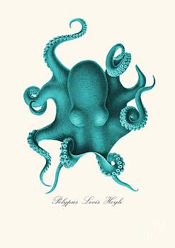 Blue Octopus by Patruschka Hetterschij