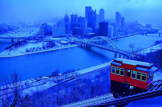 Blue Pittsburgh by Matt Matthews