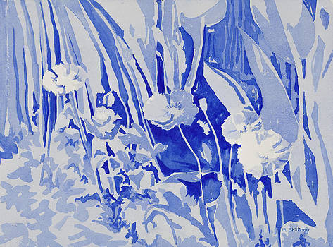 Blue Poppies by Martha Shilliday