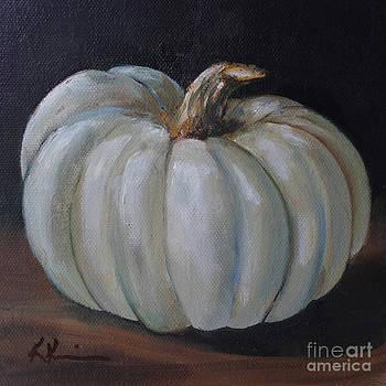 Blue Pumpkin by Kristine Kainer