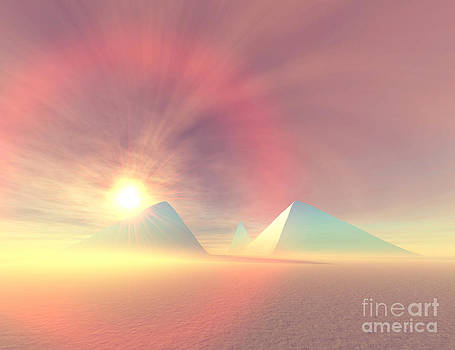Corey Ford - Blue Pyramids