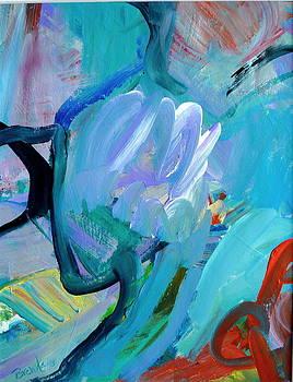 Blue Radiance  by Brenda Ruark