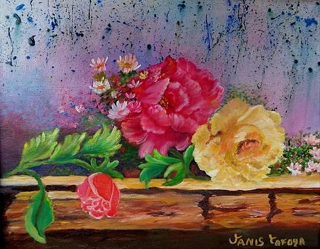 Blue Rain by Janis  Tafoya