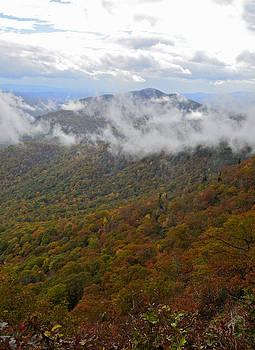 Blue Ridge Parkway Mountain View by Susan Leggett