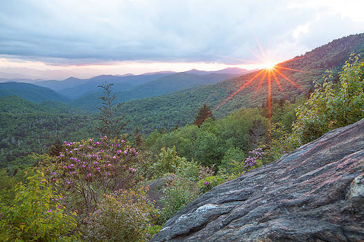 Blue Ridge Sunset by Doug McPherson
