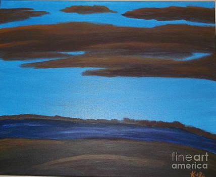 Blue River by Krystal Jost