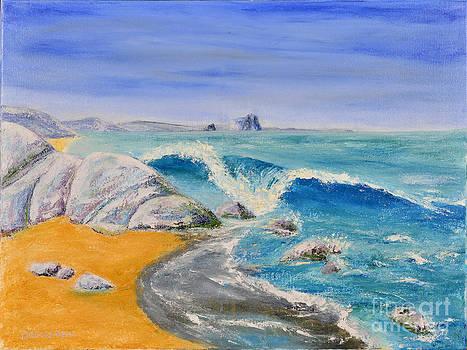 Blue Rocks by Jack Hedges