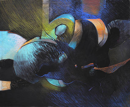 Blue Rondo by Bill Dowdy