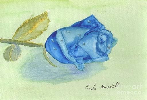Blue Rose by Pamela  Meredith