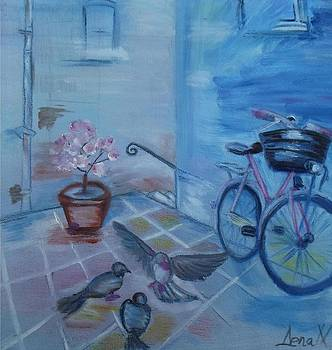 Blue silence   by Daniela Nedelea