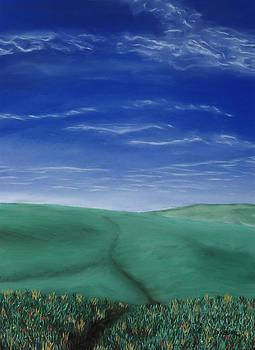 Blue Skies Ahead by George Burr