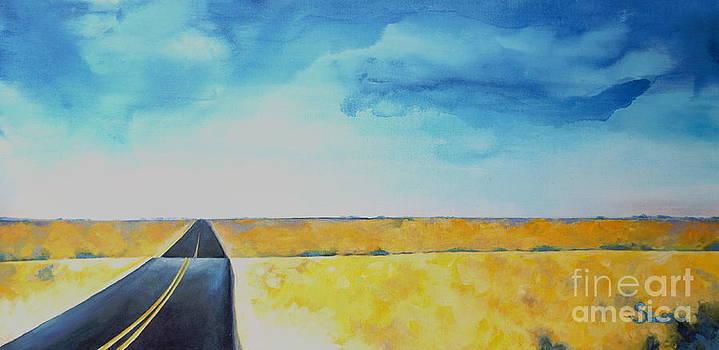 Blue Skies Ahead by Shiela Gosselin