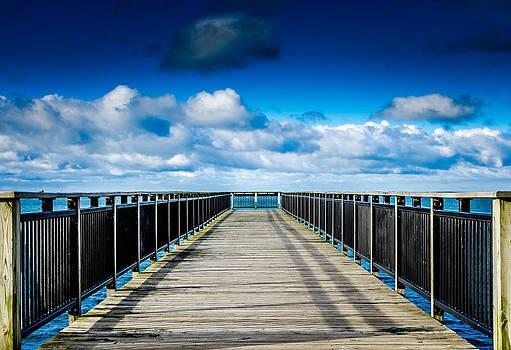 Blue Sky Pier by Anthony Morganti