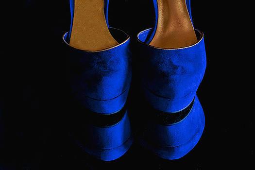 Blue Suede Shoes by Nancie Rowan