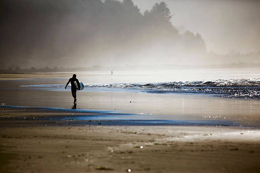 Blue Surf by Sally Bauer