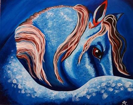 Blue by Tiffany Conn