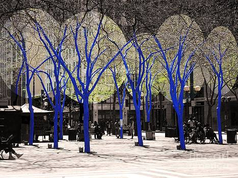 Blue Tree Group  by Martin Brockhaus