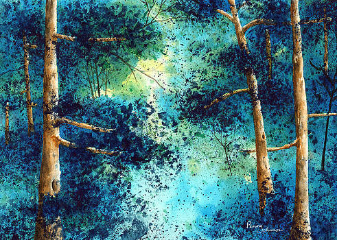 Blue Trees by Penny Johnson