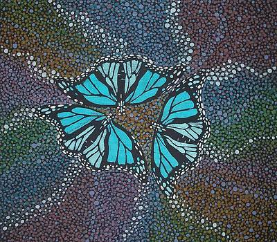 Blue Trinity by Lukandwa Dominic
