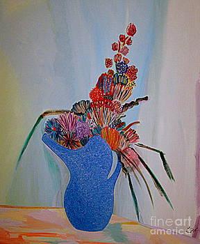 Blue Vase 22 by Bill OConnor