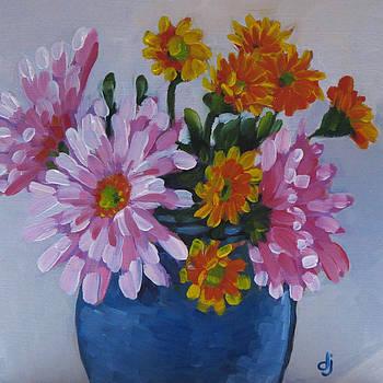 Blue Vase by Dorothy Jenson