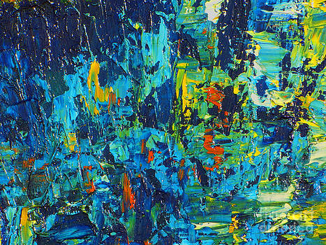Blue Vase by Jott DH