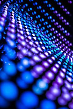 Blue Vegas Neon by William Shevchuk
