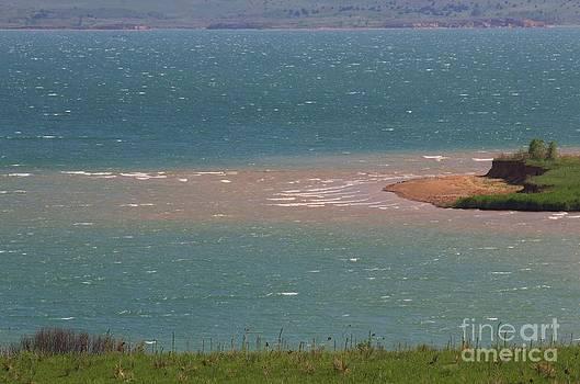 Blue Water Wilson Lake by Robert D  Brozek