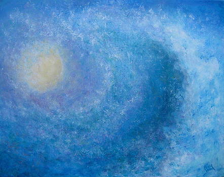 Blue Wave by Betsy Moran