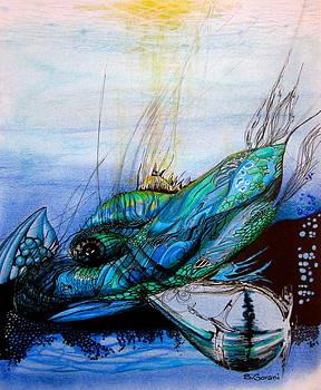 Blue Whale by Geni Gorani