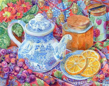 Blue Willow Tea by Barbara Timberman