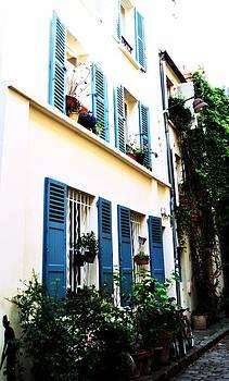 Blue windows by Paris Color
