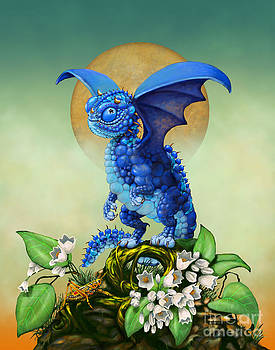 Blueberry Dragon by Stanley Morrison