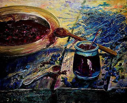 Blueberry Jam by Natalia Stahl