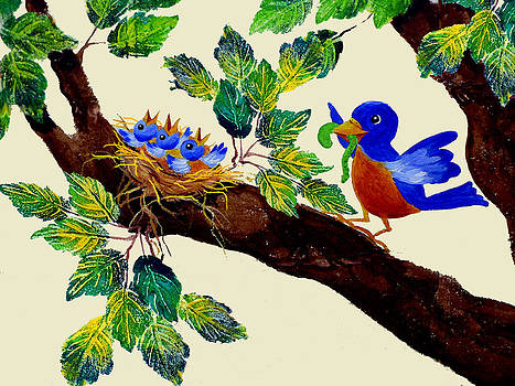 Hanne Lore Koehler - Bluebird Babies