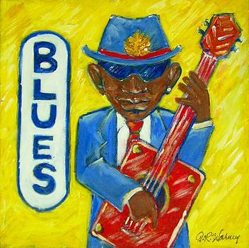 Blues by Aaron Harvey