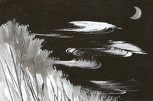 Blustery Winter Evening by Ginger Lovellette