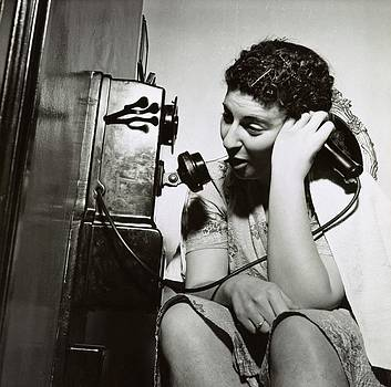 Boarding House Telephone by Library Of Congress
