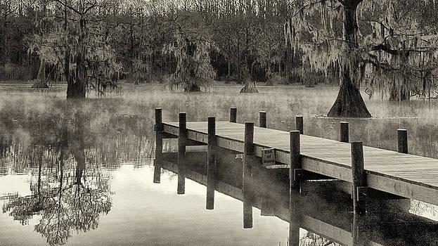Mary Lee Dereske - Boat Dock Caddo Lake