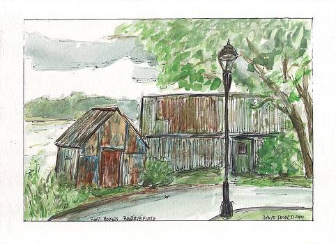 Boat Houses Barriefield by David Dossett