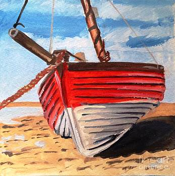 Boat on Dry Land by Maria Mills