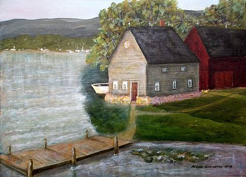 Boat Painter by Robert Harrington