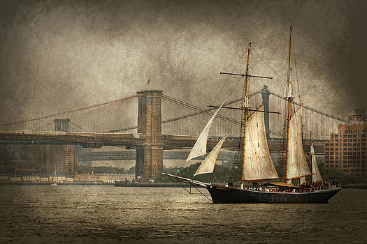 Mike Savad - Boat - Sailing - Govenors Island NY - Clipper City