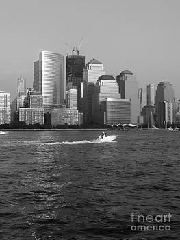 Boating on the Hudson by Avis  Noelle